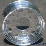 Rotella forgiata Polished del camion della lega di alluminio (22.5X7.50)
