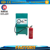 낮은 소비를 가진 고정확도 소화기 질소 가스 충전물 기계