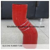 Flexible en silicone bleu flexible avec 3 bagues en acier