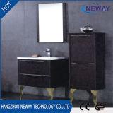 Пол стоя тщета ванной комнаты PVC с двойным тазиком