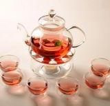 Verre Ensemble de thé Verrerie Verre Appliance Ustensiles de cuisine Pot en verre