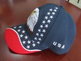 Tampas de 100% algodão promocional Logotipo Bordado Tampas de Baseball Caps