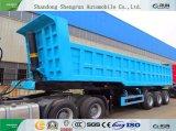 Zware Aanhangwagen van de Vrachtwagen van de Kipper van Shengrun de Nieuwe