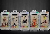 Caisse légère instantanée bon marché de l'accessoire TPU DEL de téléphone mobile pour le cas de couverture de téléphone mobile de l'iPhone 5/6/6s