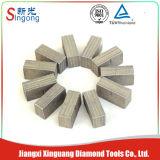 El arenisca barato / el granito de mármol del diamante sierra el segmento de las láminas