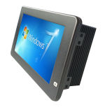 7 '' eingebetteter Industrial Touch Panel PC mit Atom N2800 Dual Core 1.8GHz