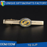 Custom Badge Shape Moda Metal Produto Zinc Alloy Tie Clip