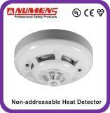 L'UL ha approvato, rivelatore convenzionale di calore del segnalatore d'incendio di incendio, rivelatore dell'allarme di calore (HNC-310-HL-U)