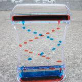 Aceite líquido acrílico de gran colorido juguete de reloj de arena Mq-Ach02