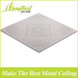 Prova de som suspendido teto de alumínio do metal