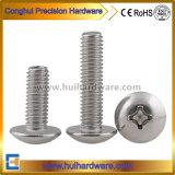 Parafusos de Cabeça Chata em DIN cabeça panela de cabeça de botão de cabeça cilíndrica