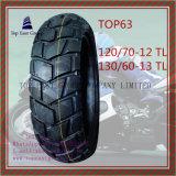 Schlauchlos, Reifen 120/70-12tl, 130/60-13tl des ISO-Nylonmotorrad-6pr