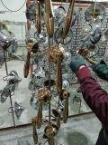 Machine titanique de métallisation sous vide de l'or PVD de machine d'enduit de l'or PVD de machine de métallisation sous vide de molette de porte/traitement de porte/traitement de porte