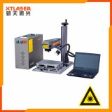 Borne détachable de laser de fibre d'acier inoxydable de PE d'ABS de PVC mini