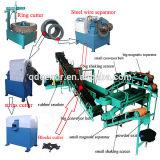 Pneumatico residuo automatico di alta efficienza che ricicla macchina alla polvere di gomma/gomma utilizzata che ricicla la pianta di pirolisi