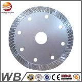 El diamante sinterizado vio el fabricante de la lámina, circular del diamante del segmento vio las láminas