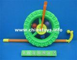 Förderndes Plastikdrückenbienen-Spielzeug-Stoss-Rad (1040902)