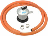 GPL Jumbo Low Pressure Gas Regulator con Hose (C20G56D30)