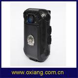Wasserdichte Polizei-videoinfrarotkarosserie getragene Kamera mit TF-Karte Zp605