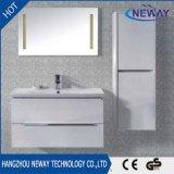 Новая водонепроницаемая ПВХ ванная комната с раковиной кабинета с боковой шкаф