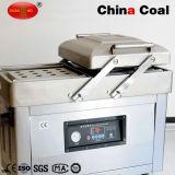 Dz600-2sb dupla câmara automática alimentar máquina de embalagem a vácuo