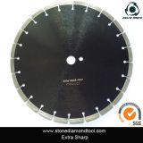 Le disque concret de découpage, diamant scie la lame pour le béton