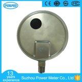 alta qualidade de 150mm todo o manómetro do aço inoxidável