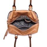Signora Handbag del cuoio della spalla del sacchetto di modo del progettista stampata fiore delle donne