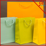 Shopping sac de papier kraft pour impression couleur