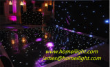Starlit照明効果の熱い販売の黒の表面LEDの床