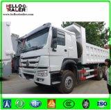 6X4 10 de Vrachtwagen van de Stortplaats van het Wiel met het Systeem van de Leiding Zf8118