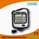 60 regazos/cronómetro Handheld de la memoria partida (JS-5202)