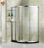 Preço do competidor que desliza o quarto de chuveiro simples, cerco do chuveiro, cabine do chuveiro