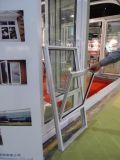 El estilo de aluminio cubierto polvo de los E.E.U.U. del perfil levanta para arriba y abajo ventana, ventana colgada doble K01129