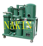 Filtración del petróleo de la turbina de GT, máquina que vacia del petróleo