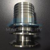 Adapter van de Slang van het Roestvrij staal van het Eind van de metalen kap de Sanitaire (ace-pj-5D)