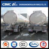 CIMC Huajun 2axle Tanker aleación de aluminio químicas Líquido