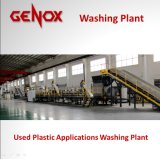 Lavado plástico usado de la lavadora/del plástico de las aplicaciones/reciclaje plástico