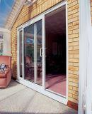 高品質アルミニウム木超広い折れ戸