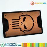 Informações de ID HUAYUAN impressão personalizada de logotipo cartão de bloqueio de RFID