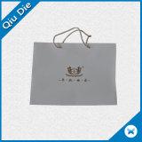 ショッピングのための白い方法ペーパーハンド・バッグ