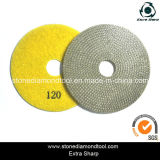 4''/5''/6'' Electroplated Diamond Polishing Pads