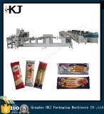 Máquina de embalagem automática do espaguete da alta qualidade com três pesadores