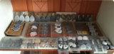 Pesos del mantel de la piedra y de los shelles