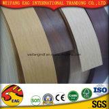 Borda de madeira da borda Banding/PVC da grão Color/PVC da fita de PVC