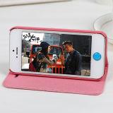 Магнитная крышка случая жесткой кожи сальто на iPhone 6 добавочное