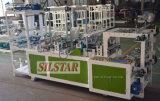 Gbds-500 doppelte Zeilen Stern-Dichtung, die den flachen Beutel herstellt Maschine rollt