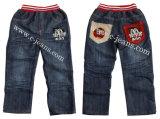Niño de la moda Denim Jeans pantalones vaqueros tejido de algodón 100%