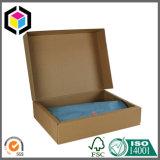 Ebene gebrandmarkter große gewölbte Kleidung-Papierverpackenkasten-Großhandelslieferant