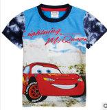 Les nouvelles petites et moyennes pour les enfants T-Shirt à manches courtes en coton d'été Children's voitures cartoon T-Shirt